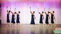 芳华岁月舞蹈《心中的玫瑰》正背面及分解编舞萃萃口令分解动作教学