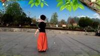 春雨舞蹈《新浏阳河》正背面演示及口令分解动作教学