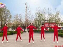 林州芳心广场舞《小酥步》附教学编舞王广成经典正背面演示及口令分解动作教学