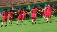 丁家渡广场舞《公虾米》正背面演示及口令分解动作教学和背面演
