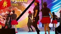 创意水兵舞《新浏阳河》空港区炮台镇水兵舞队完整版演示及口令分解动作教学