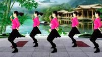 百度一號:桂華廣場舞《給我一個吻》編舞蝶依16步附正背面口令分解教學演示