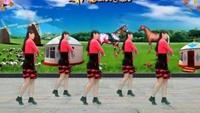 陽光美梅廣場舞《愛在草原》初級入門16步正背面演示及慢速口令教學