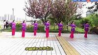 謝春燕廣場舞(戀戀紅塵)正背面演示及慢速口令教學