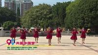 福建省漳州市龙海程溪内云阿梅舞蹈队舞蹈   共圆中国梦 表演 团队版 口令分解动作教学