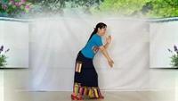 春和广场舞正面演示藏族舞蹈走出空城走不出想念口令分解动作教学