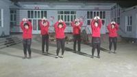 杜家庄广场舞《公虾米》mp4编舞:周周原创附教学口令分解动作演示