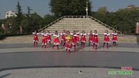 四川绵阳涪城区吴家镇广福村二社平乐舞队 祝酒歌  表演 团队版 正背面演示及慢速口令教学