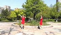 长兴轻纺城广场舞《公虾米》编舞:诗诗完整版演示及分解教学演示