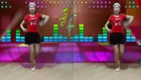 湖北 玉琳 《路人甲》简单32步手花舞经典正背面演示及口令分解动作教学