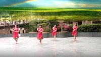 藍色天夢-習舞:金運舞蹈隊原創附正背面教學口令分解動作演示
