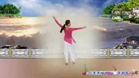 爱舞依依广场舞《再唱洪湖水》演示制作:秋风完整版演示及分解教学演示