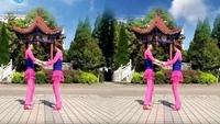 建芳广场舞《蓝色雨》原创恰恰双人舞附教学经典正背面演示及口令分解动作教学