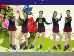 金社广场舞现代流行舞《泰国情歌》原创附分解经典正背面演示及口令分解动作教学