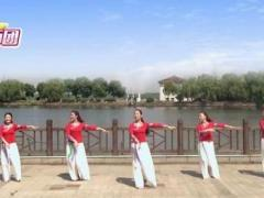 蘇州盛澤雨夜廣場舞《夢中戀人 》中三 原創附教學口令分解動作教學演示