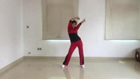 丽萍第二套美体健身操第六节《表演者寒梅广场舞》口令分解动作教学演示