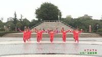 綿陽市游仙觀舞蹈隊 火了火了火 表演 團隊版 原創附教學口令分解動作演示