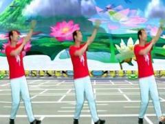 定州强哥广场舞《花儿哪有阿妹俏》原创附教学正背面口令分解动作教学演示