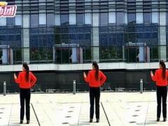 漓江飞舞广场舞《爱情未知数》原创附教学正背面演示及口令分解动作教学和背面演