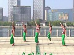 青儿广场舞《我的初恋》原创附教学 演唱 杨海彪经典正背面演示及口令分解动作教学