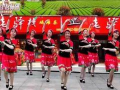 沅陵燕子广场舞《四月采茶歌》原创民族形体舞附教学完整版演示及分解教学演示