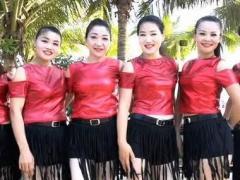 三亚美舞团《排舞恰恰》回顾经典附教学 瘦身舞系列正背面演示及口令分解动作教学