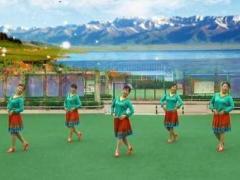 铜川花之韵广场舞《青藏女孩》原创附教学口令分解动作教学