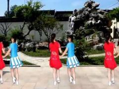 太湖一莲广场舞《听心》原创双人舞系列32步附教学原创附正背面教学口令分解动作演示