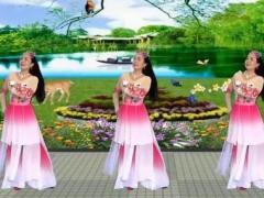 卢清秀广场舞《相爱的从前》原创抒情舞附教学附正背表演口令分解动作分解教学