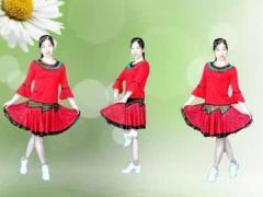 简画广场舞《明知你不会来》Dj 动感32步子舞附口令分解动作教学演示