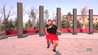 盘锦市自由自在舞蹈俱乐部 甩葱歌 动作分解 双人版 正背面演示及口令分解动作教学