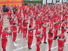 杨丽萍广场舞联谊会-千人粉丝共舞《厉害了我的国》附正背表演口令分解动作分解教学