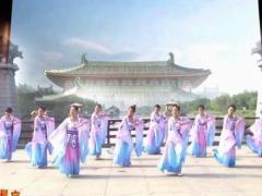 西安悠然广场舞《礼仪之邦》原创汉唐舞 附教学附正背表演口令分解动作分解教学