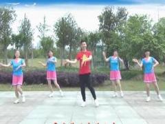 楠楠舞蹈《微心》(原创大众健身舞附教学)正背面口令分解动作教学演示