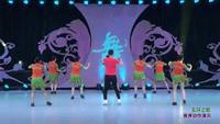 廊坊藝子軍明星隊廣場舞 五環之歌(背身) 表演 團隊版 正背面口令分解動作教學演示