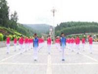 通化铁路健身舞蹈 佳木斯快乐舞步健身操 表演 经典正背面演示及口令分解动作教学