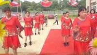 彭嶺村廣場舞《啞巴新娘》完整版演示及口令分解動作教學