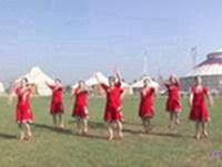 內蒙古鴻雁飛飛廣場舞 今生相愛 表演 正背面演示及慢速口令教學