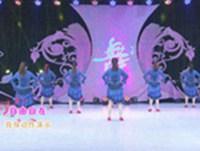 美久广场舞 自由自在 背面展示附正背面口令分解教学演示