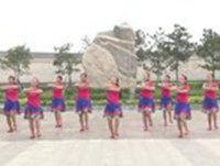 洛阳轻舞飞扬广场舞 祝酒歌 表演 口令分解动作教学演示