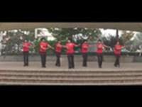 蘭悅之星廣場舞 馬背情歌 表演 正背面口令分解動作教學演示