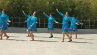 藍色天夢-----編舞:盛澤雨夜正背面演示及口令分解動作教學