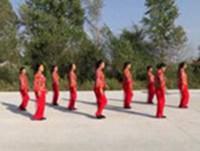 土橋光復村廣場舞 啞巴新娘 表演 正背面演示及慢速口令教學