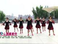 长春两道口社区芳菲舞蹈 心里藏着你 表演 正背面演示及慢速口令教学