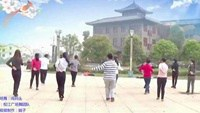权江舞蹈《闯码头》团队版正背面口令分解动作教学演示