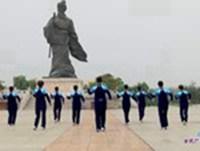 临淄幸福快乐广场舞 自由自在 表演 口令分解动作教学演示