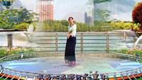 太原魅力無限廣場舞《遇上你是我的緣》編舞:饒子龍完整版演示及分解教學演示