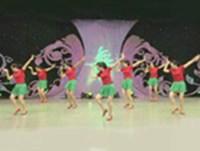 王梅廣場舞 小蘋果 表演 完整版演示及分解教學演示
