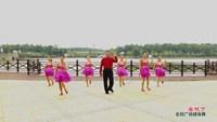 高安荷岭广场舞 美极了 表演 正背面口令分解动作教学演示