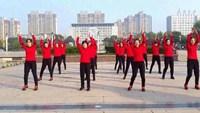 安徽娟兒廣場舞《我愛廣場舞+中國夢》正背面演示及慢速口令教學